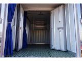 荷台内寸:448×186×195 R3枚観音扉/カーテン付 箱厚み11cm 床ステンレス/プラスチックすのこ付 仕切り扉付 移動式カーテン付 荷室LED灯3個 水抜き穴F/R2対 ±30度設定 -16度確認