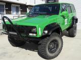 ジープ・チェロキー スポーツ 4WD リフトアップ レカロシート 社外ハンドル