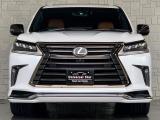 LX570 ブラック シークエンス 4WD 特別仕様車/モデリスタエアロ/Rエンター