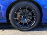 アドバンレーシングの17インチホイールです★車体色のブルーにとてもマッチしていて、キマッテますね(≧v≦)