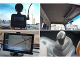 ドライブレコーダー ハイキャブ 社外ポータブルナビ フロア5MT
