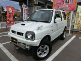ジムニー ワイルドウインド 4WD 外品16AW リフトアップ 背面タイヤ