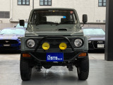 ジムニー バン HC 4WD 社外Fバンパー オーバーフェンダー