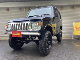 ジムニー ワイルドウインド 4WD 全塗装 リフトアップ 社外グリルマフラー
