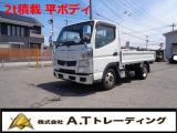 キャンター  平ボディー 2t積載 ターボ MT車