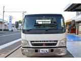 キャンター  日新工業2台積み 積載車 ローダー