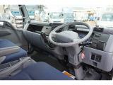 キャンター 4.9 ワイド ロング 超低床 SA ディーゼル 4.15t 3軸 平ボディ Rエアサス