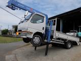 キャンター 4.6 ワイド ロング 全低床 ディーゼル セルフクレーン タダノ5段ラジコン