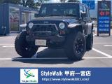 ジープ・ラングラーアンリミテッド スポーツ 4WD リフトアップ/社外アルミ/サイドモ...