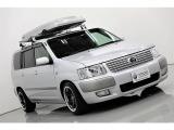 サクシードバン 1.5 UL Xパッケージ 4WD 新品アルミ・タイヤ・車高調 5速MT