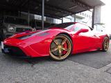 458スペチアーレ  F1 DCT レーシングストライプ ETC