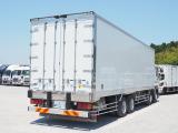 ギガ 冷凍車 4軸低床 冷凍バン ジョロダー溝4列