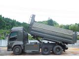 スーパーグレート ダンプ 5.4×2.35m 新明和製 380馬力
