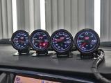 ランサーエボリューション 2.0 GT-A VII 4WD 車高調 ウイングレス 追加メーター