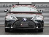 ES300h Fスポーツ サンルーフ 赤レザーシート 禁煙車