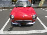 フィガロ  赤全塗装 ターボ オープントップ