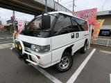 デリカスターワゴン 2.4 エクシード サンルーフ 4WD 3ナンバー登録 クリスタルライト...