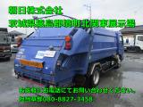 キャンター  プレス式パッカー車7.1立米