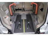 スペーシア E ウィズ 車いす移動車 リアシート無 電動ウインチレーダーサポートブレーキ