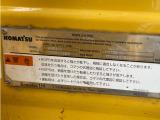 /その他 日本  コマツ PC120 排土板