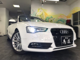 A5カブリオレ 2.0 TFSI クワトロ 4WD 記録取説/HID/