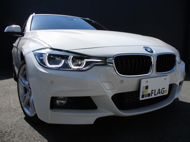BMW 318iツーリング Mスポーツ ブラウンレザースポーツシート