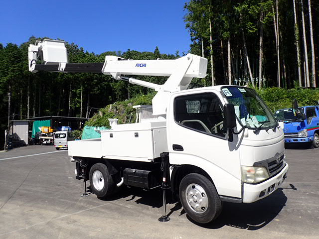 日野 デュトロ 高所作業車 H19 アイチ SK10B 9.7m