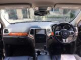 ジープ・グランドチェロキー リミテッド 4WD 黒革HDDナビ S/Bカメラ 18AW