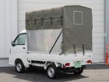 サンバートラック TB 4WD 元赤帽パネル軽トラック高さ可変幌4WD