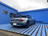 Z3  オープンカー、ウィング付き、油種類交換