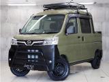 ハイゼットデッキバン G SAIII 4WD 新品タイヤ 新品ルーフラック HDDナビTV