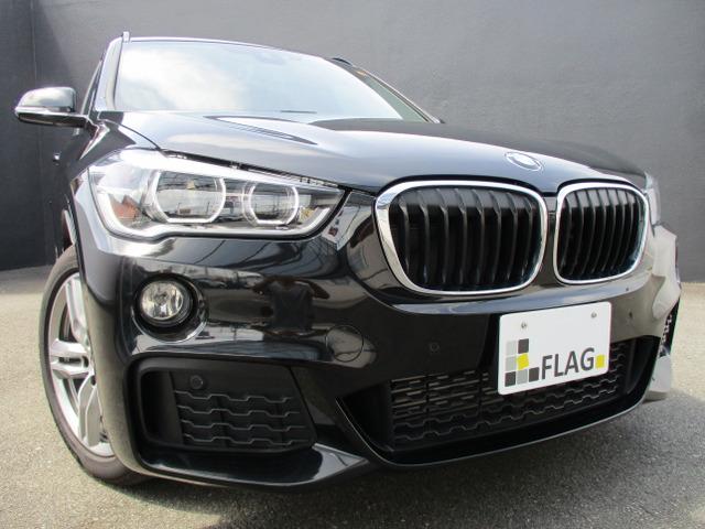 BMW X1 xドライブ 25i Mスポーツ 4WD ワンオーナー サンルーフ 黒革シート