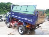 コンドル  増トン 積載7.7t 新明和製ダンプ