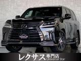 LX570 ブラック シークエンス 4WD モデリスタエアロ/4本マフラー/Rエンタ