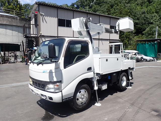 日野 デュトロ 高所作業車 H19 アイチSK10B エンジン整備済