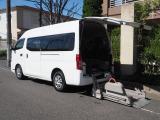 NV350キャラバン  福祉車両 車椅子電動固定2名分