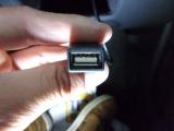 USB入力付き。