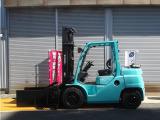トヨタL&F エンジンフォークリフト 4.0tベールクランプ