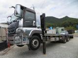 スーパーグレート  13トン2軸 重量物運搬車3ペダルベッド