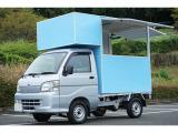ハイゼットトラック エアコン パワステ スペシャル キッチンカー