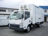 エルフ  3tロングワイド中温冷凍車・2室2エバ