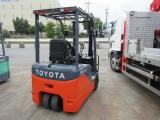 トヨタL&F 電動フォークリフト 3.0M 1.5t バッテリー車