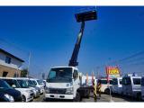 キャンター  5.2ディーゼル タダノ製12m高所作業車 メーカー年次点検済み ETC