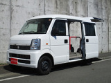 スズキ エブリイ ウィズ 車いす移動車 補助シート無 電動固定式