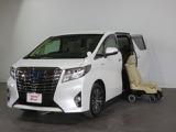 トヨタ アルファード ハイブリッド 2.5 X サイドリフトアップシート装着車 4WD