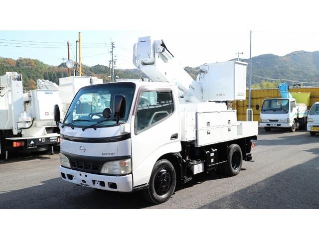 日野 デュトロ 高所作業車 タダノ高所作業車AT110TE