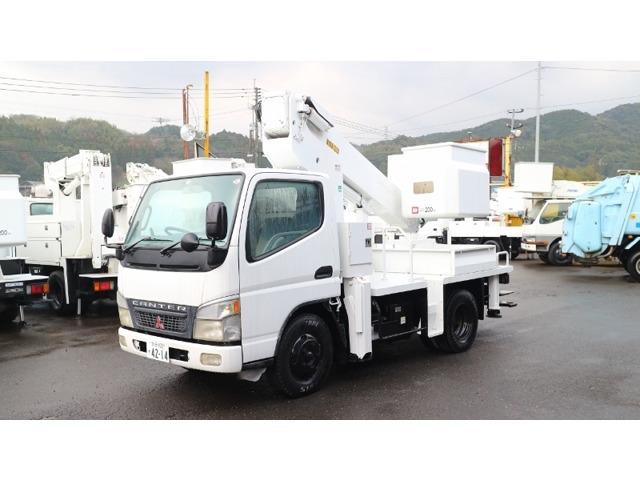 三菱ふそう キャンター 高所作業車 タダノ高所作業車AT121