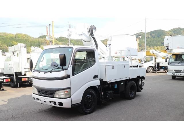 日野 デュトロ 高所作業車 アイチ高所作業車 SS10A 200KGバケット
