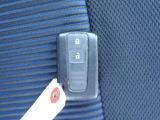 キーフリーも付いて便利です。バックの中に鍵を入れたままエンジン始動できます。