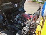 エンジンルーム内です。4月に車検整備をおこなっております。